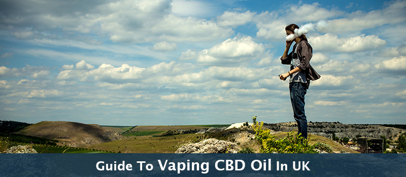 Guide to Vaping CBD Oil in the UK With CBD Vape Pens & E-Liquid Bottles